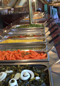 buffet vege side